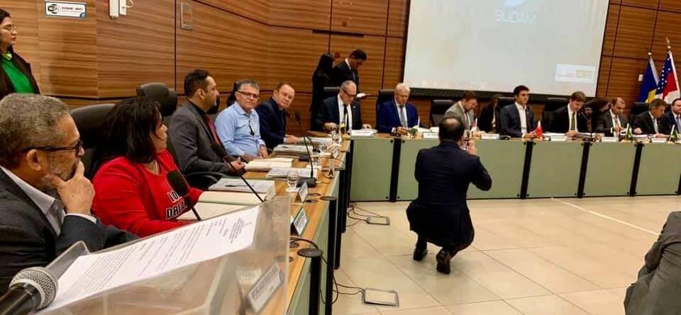 Prefeito de Juruti participa da reunião do Condel da Sudam, em Belém